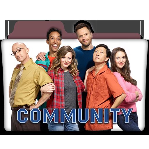 Community Tv Web Series Folder Icon