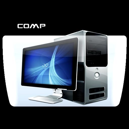 Computer, Folder, Icon Free Of Colorflow Icons