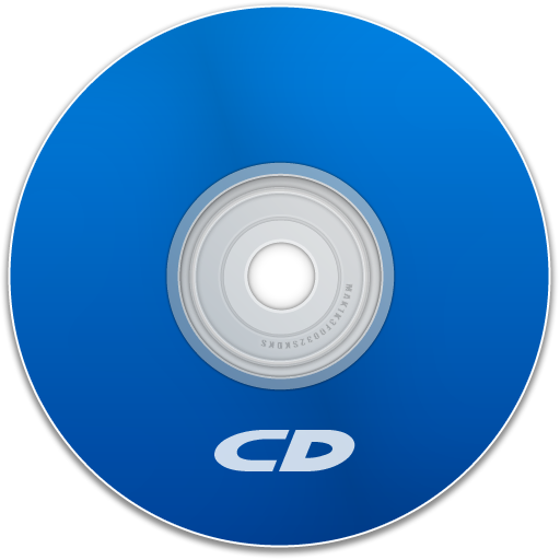 Cd Icons Blue Images