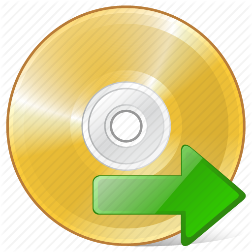 Cd, Compact, Disc, Disk, Dvd, Export, Storage Icon