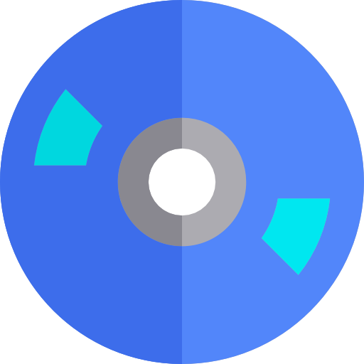Multimedia, Music, Compact Disc Icon