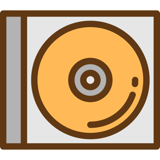Compact Disc Music Png Icon