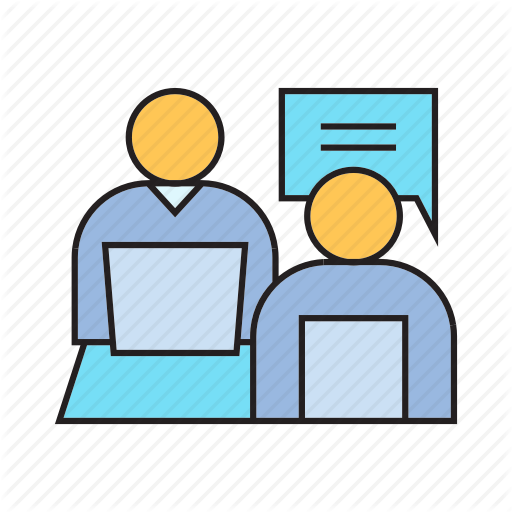 Consulting, Interview, Job Interview, Meeting, Office, Talk Icon