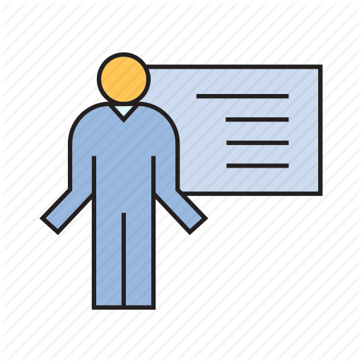 Office, People, Presentation, Whiteboard Icon