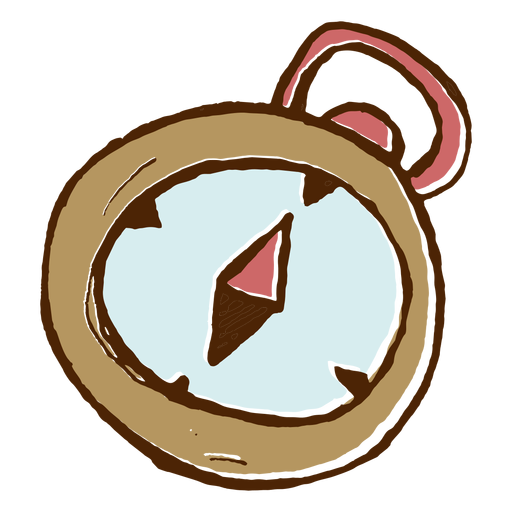 Camping Compass Icon