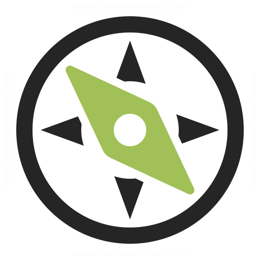 Compass Icon Iconexperience