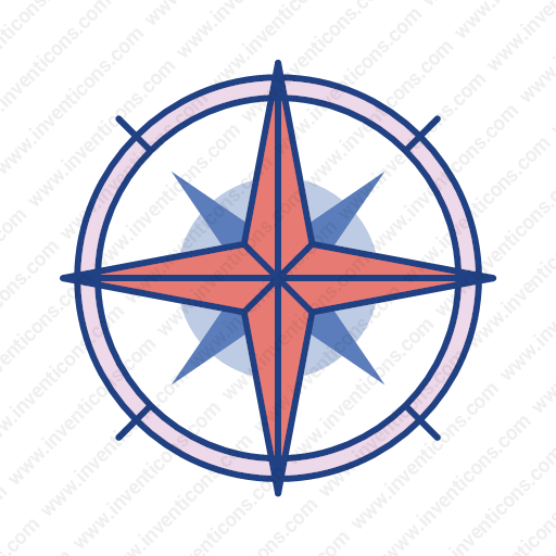 Download Compass Icon Inventicons