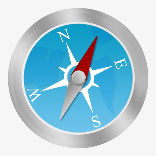 Compass, Flat Icons, System Icon Png Image And Clipart For Free
