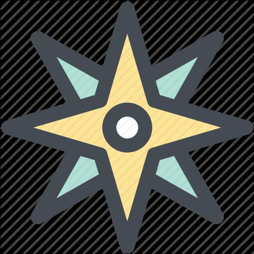 Compass, Location, Navigation, Navigator, Position, Rose Icon