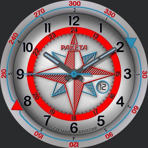Raketa Compass