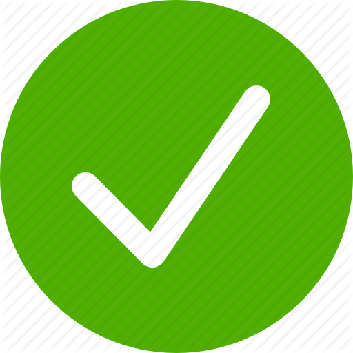 Approved, Check, Checkbox, Circle, Complete, Done, Green Icon