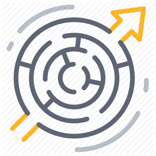 Business, Complex, Complicate, Confused, Maze, Solution, Strategy Icon