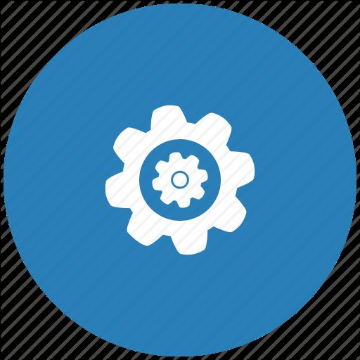 Complex, Detail, Engine, Gear, Part, Repair, Round Icon