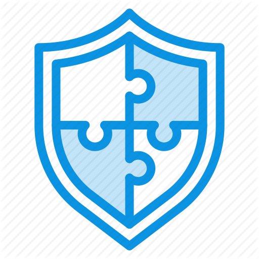 Complex, Puzzle, Security Icon