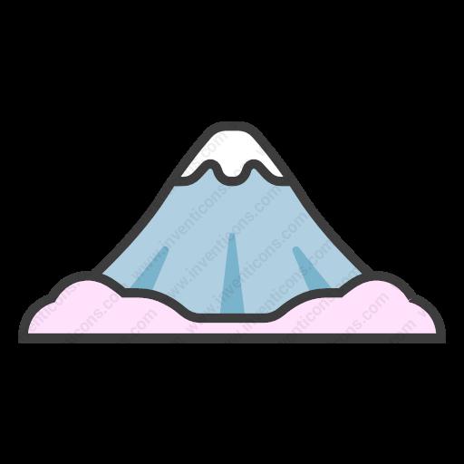 Download Mt,fuji Icon Inventicons