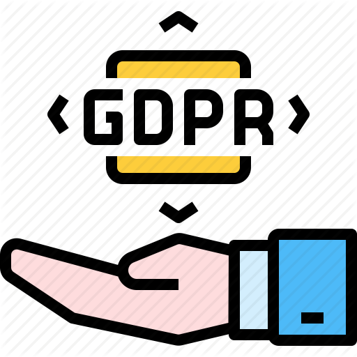 Compliance, Gdpr, Hand, Protection Icon