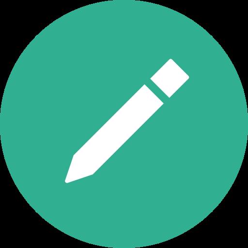 Circle, Compose, Edit, Write, Draw Icon