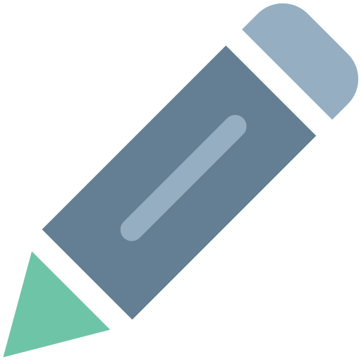 Compose, Create, Edit, File, Office, Pencil, Writing Icon Free