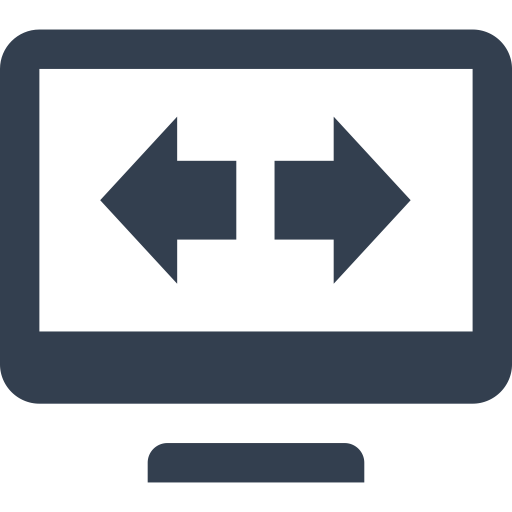 Arrow, Computer, Exchange, Expand, Fulscreen, Internet, Monitor