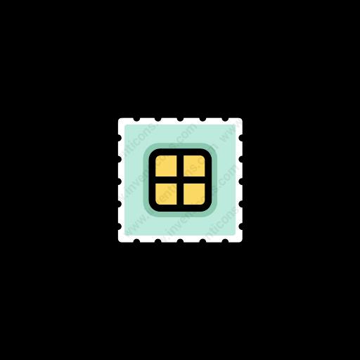 Download Computer,chip Icon Inventicons
