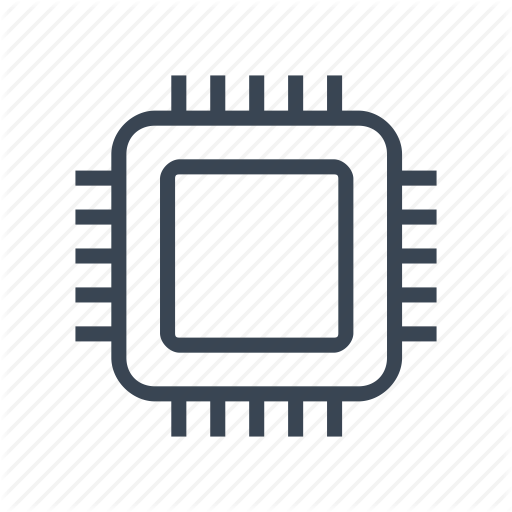 Microchip Vector Digital Chip Transparent Png Clipart Free