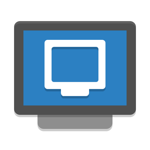 Preferences Desktop Remote Desktop Icon Papirus Apps Iconset