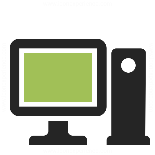 Workstation Icon Iconexperience