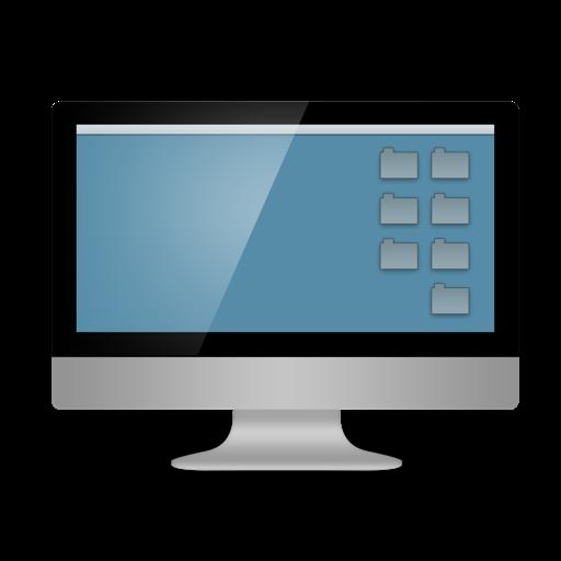 Computer, Desktop Icon
