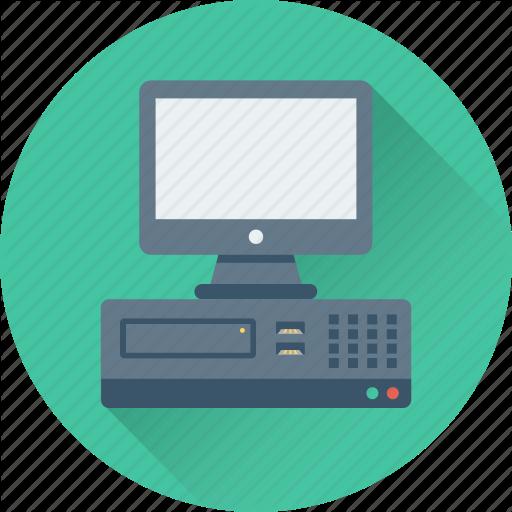 Computer, Desktop Computer, Desktop Pc, Pc, Personal Computer Icon
