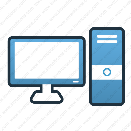 Download Computer,desktop Icon Inventicons