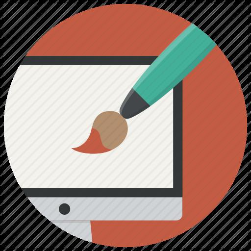 Computer, Graphic, Paint, Web Design, Graphics Icon