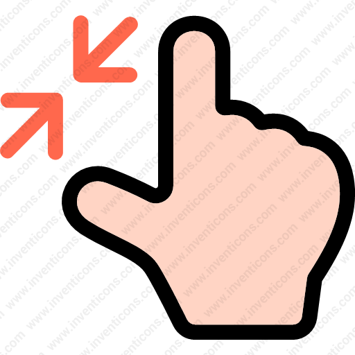 Download Finger,zoom,gesture,hand,multimedia,option Icon Inventicons