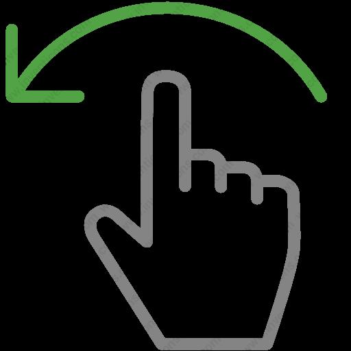Download Finger,gesture,hand,move,left,swipe Icon Inventicons
