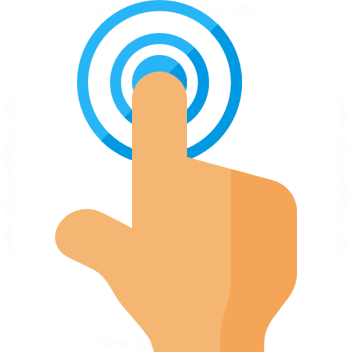 Iconexperience G Collection Hand Touch Icon
