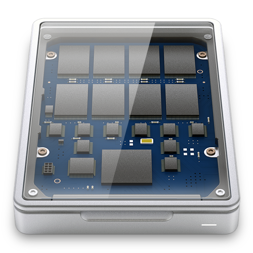 Solid State Drive Icon Hyper Realistic Hd Iconset