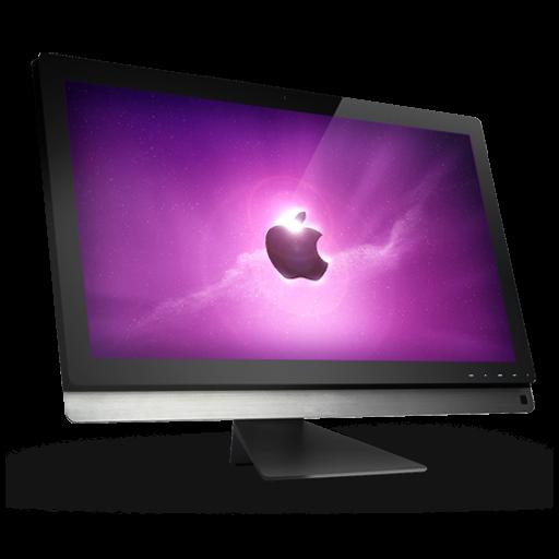 Computer Apple Icon Claire Monitor Iconset Prasilarts