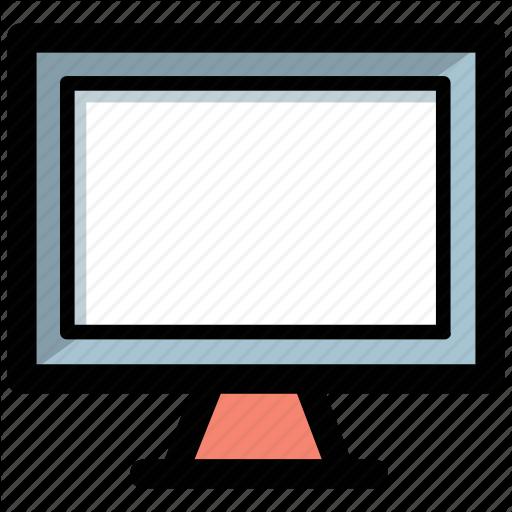 Computer Monitor, Display Screen, Lcd, Led, Monitor Icon