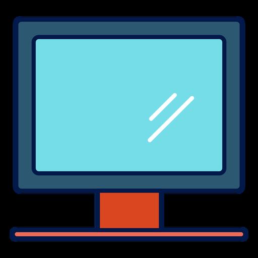 Computer Monitor School Icon