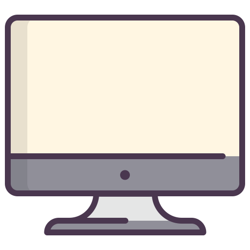 Screen, Pc Components, Pc, Computer, Display, Monitor Icon