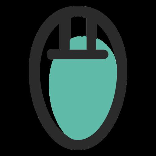 Computer Mouse Colored Stroke Icon