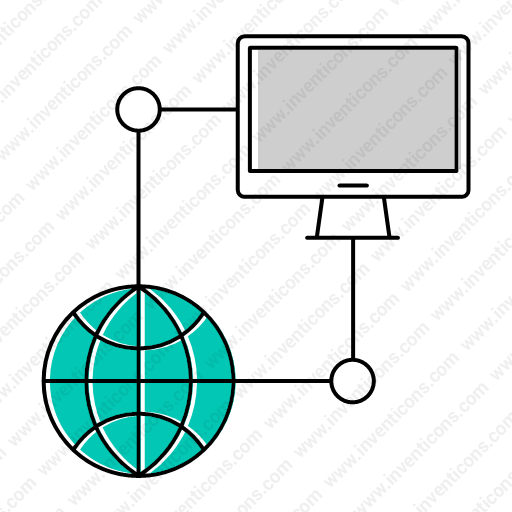 Download Database,server,computer,network Icon Inventicons