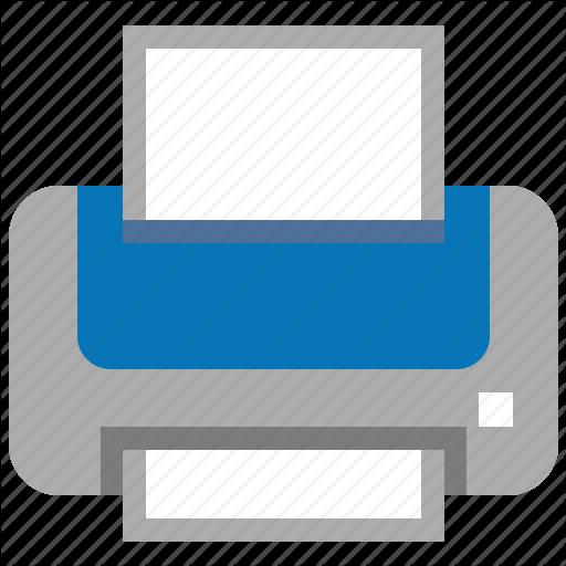 Ink, Laser Printer, Lpt, Paper, Print, Printer, Printing Icon
