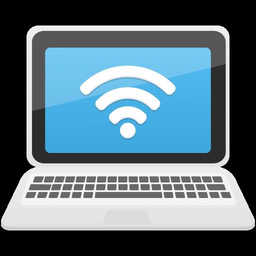 Laptop Wifi Icon Flatastic Iconset Custom Icon Design