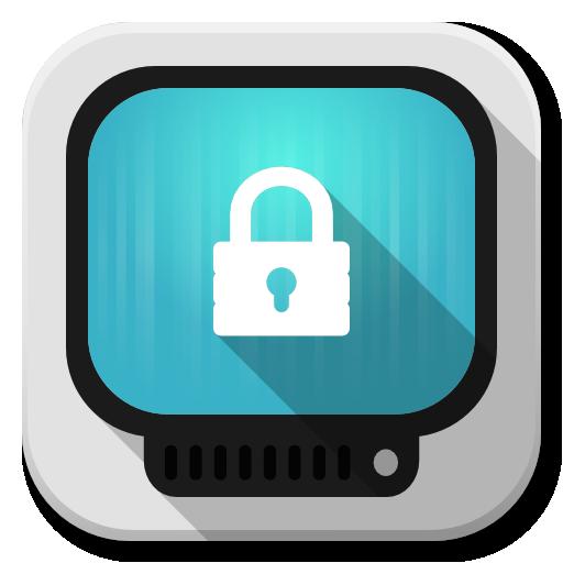 Apps Computer Lock Icon Flatwoken Iconset Alecive