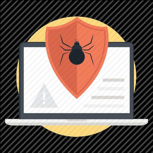 Computer Bug, Computer Virus, Internet Hacker, Internet Virus