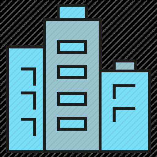 Apartment, Building, Condo, Condominium, Real Estate, Tower Icon