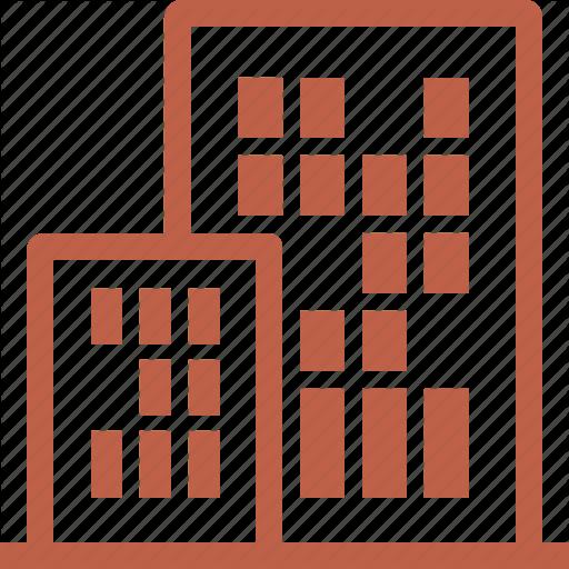 Apartment, Building Insurance, Condo Insurance, Office Icon