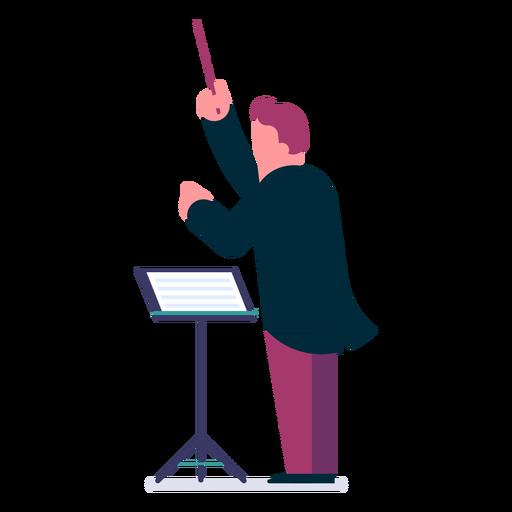 Orchestra Conductor Cartoon