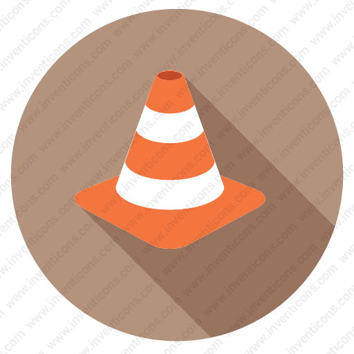 Download Vlc,cone,forbidden,media,player,traffic,warning Icon