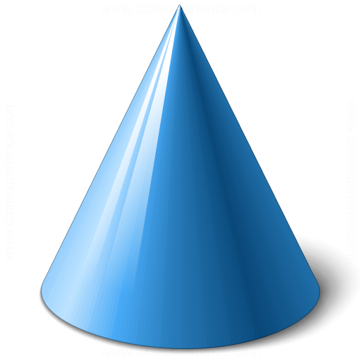 Iconexperience V Collection Object Cone Icon